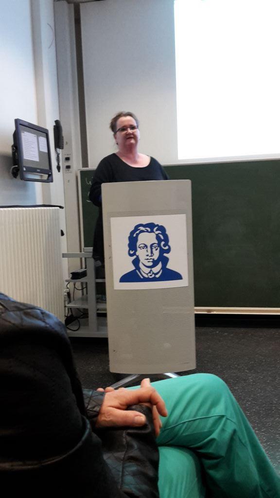 Vortrag über Wundmanagment von Anja Breitenfeld -