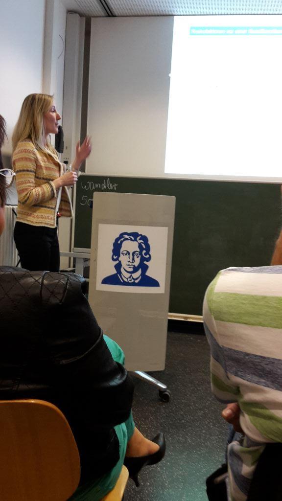 Vortrag Ludmila Peregrinova, Kerckhoff-Klinikum Bad Nauheim