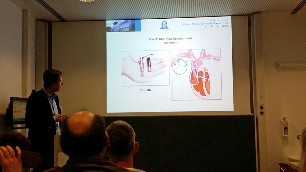 Vortrag Ulrich Stock, Herzinsuffizienzzentrum der Uniklinik Frankfurt