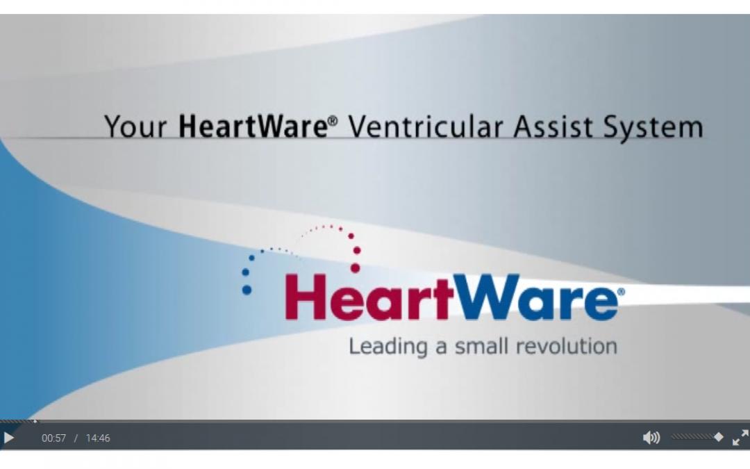 HeartWare® Patient Training Video